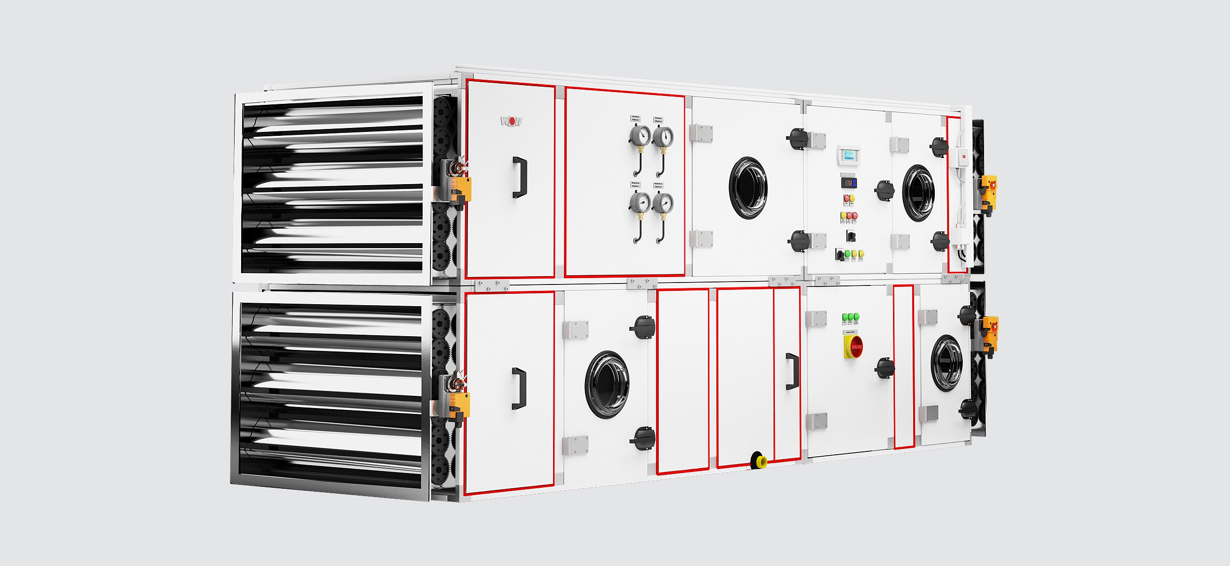 systems sa as the official distributor of wolf air handling units  #BB8D10